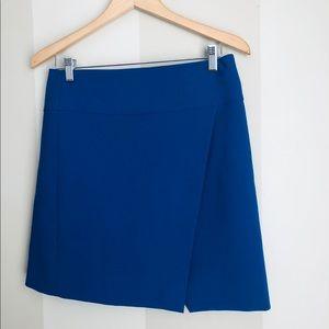 New J.Crew royal blue skirt